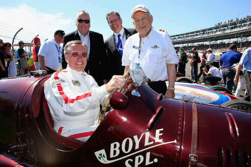 Maserati Boyle Special Honored at Indy