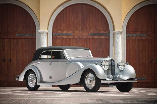 1938 Bentley 4 1/4 Litre 4- Dr. Cabriolet