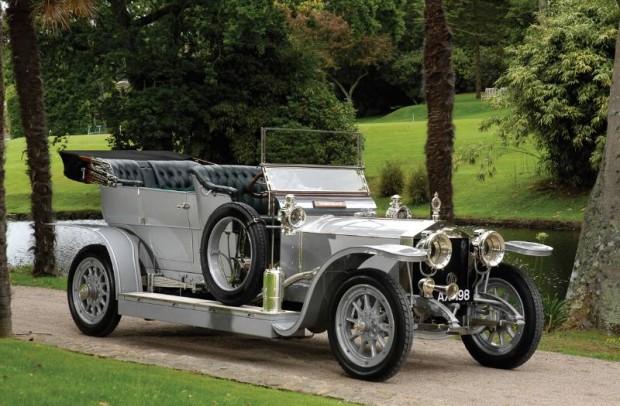 Rolls-Royce 40/50 HP Silver Ghost 'AX 201' Roi-de-Belges