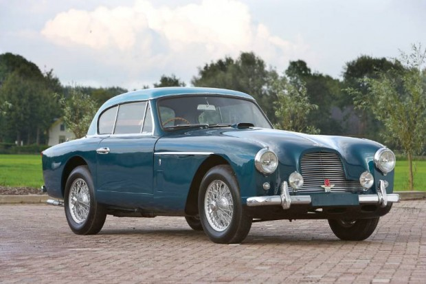 Aston Martin DB2/4 Mk II Fixed Head Coupe 'Notchback'