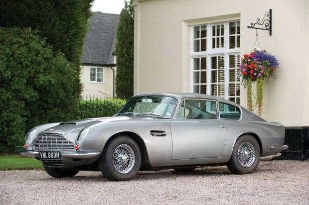 Aston Martin DB6 Mk II Vantage Coupe