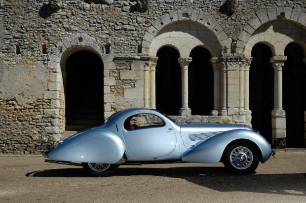 Talbot-Lago T23 Coupe, Body by Figoni & Falaschi