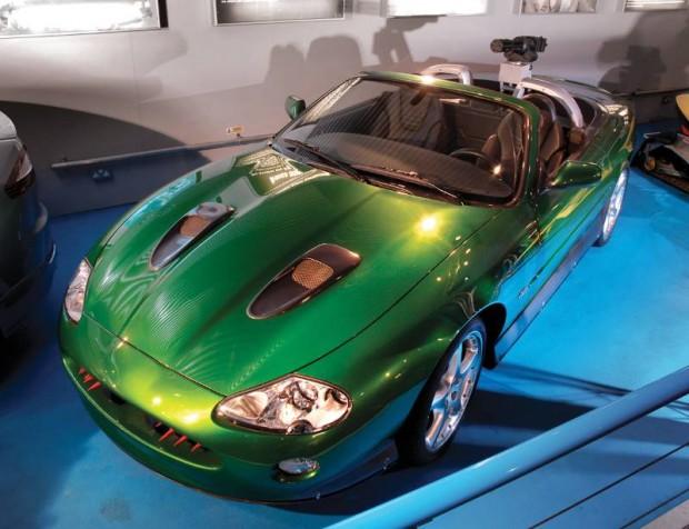 Jaguar XKR James Bond Special Effects Car Convertible