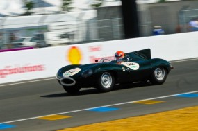 Jaguar D Type at Le Mans