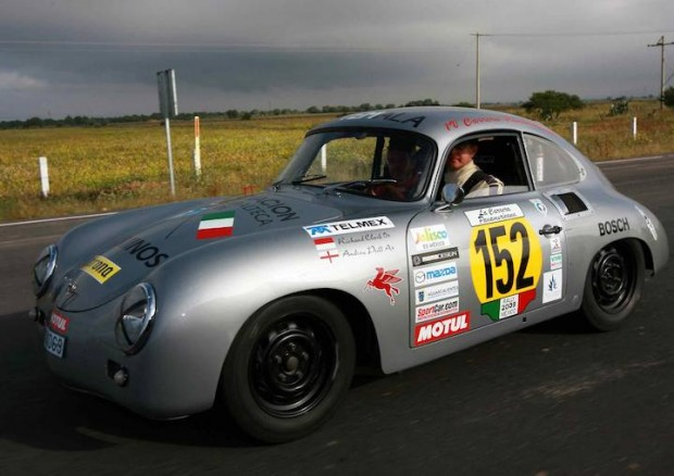Porsche 356 of Richard Clark and Andrew Prill