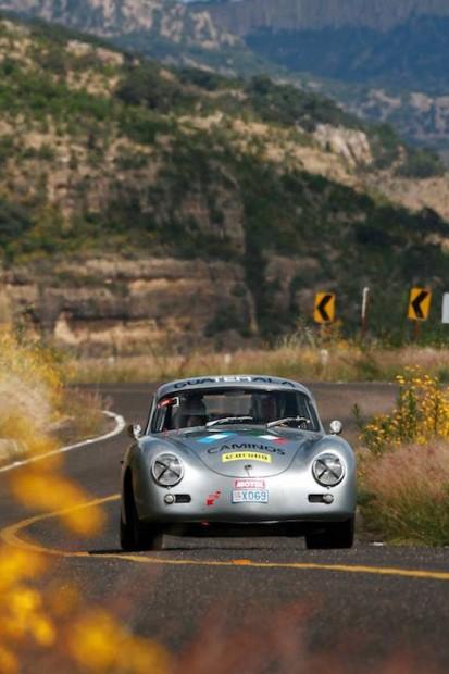 Porsche 356 of Michel Gendre and Dominique Peraldi