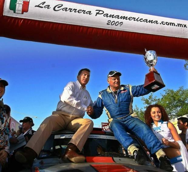 2009 La Carrera Panamericana Winner and 1984 World Rally Champion Stig Blomqvist
