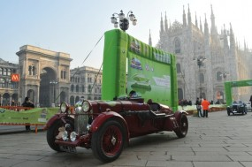 Lagonda Team Car at Coppa Milano Sanremo Rally