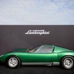 Restored Lamborghini Miura at 2016 Amelia Island Concours