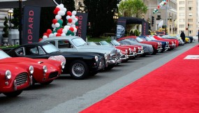 Line up at California Mille