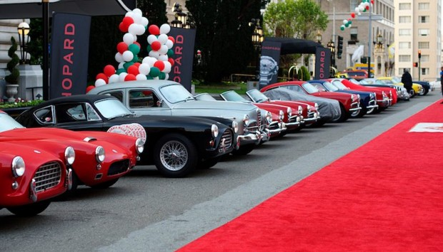 California Mille in front of Fairmont Hotel in San Francisco