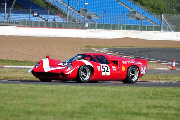 Lola T70 Mk III GT of Oliver Bryant. Photo: Simon Wright