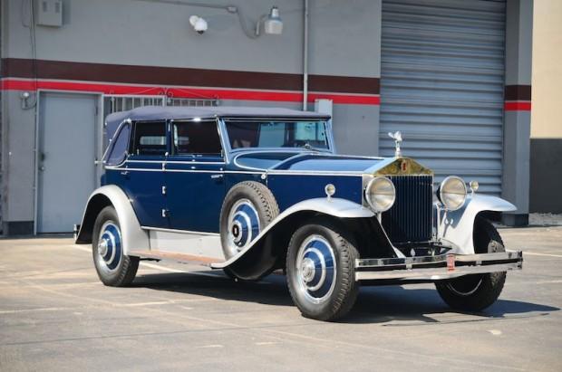 1930 Rolls-Royce Phantom I Newmarket All-Weather Convertible Sedan