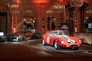 Louis Vuitton Classic Award Winners - Ferrari 250 GTO and Peugeot Onyx concept car