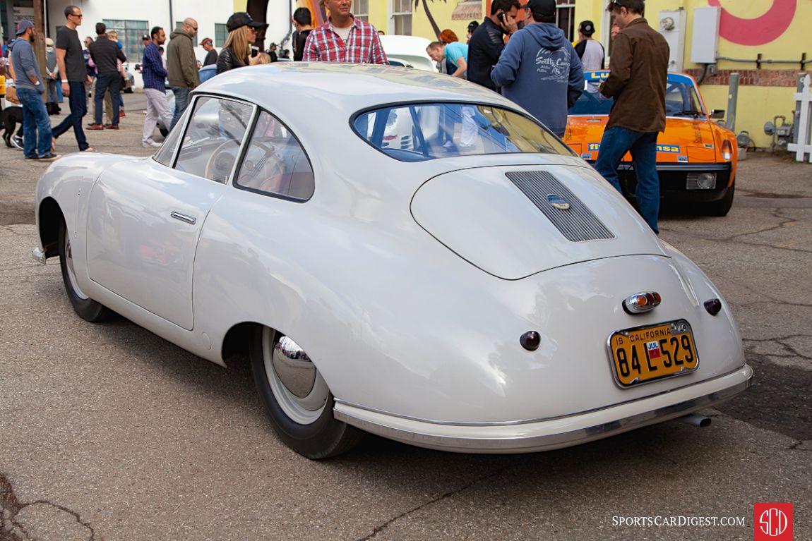 Jeff Zwart's 1949 Porsche 356/2 Coupe (Photo: Victor Varela)