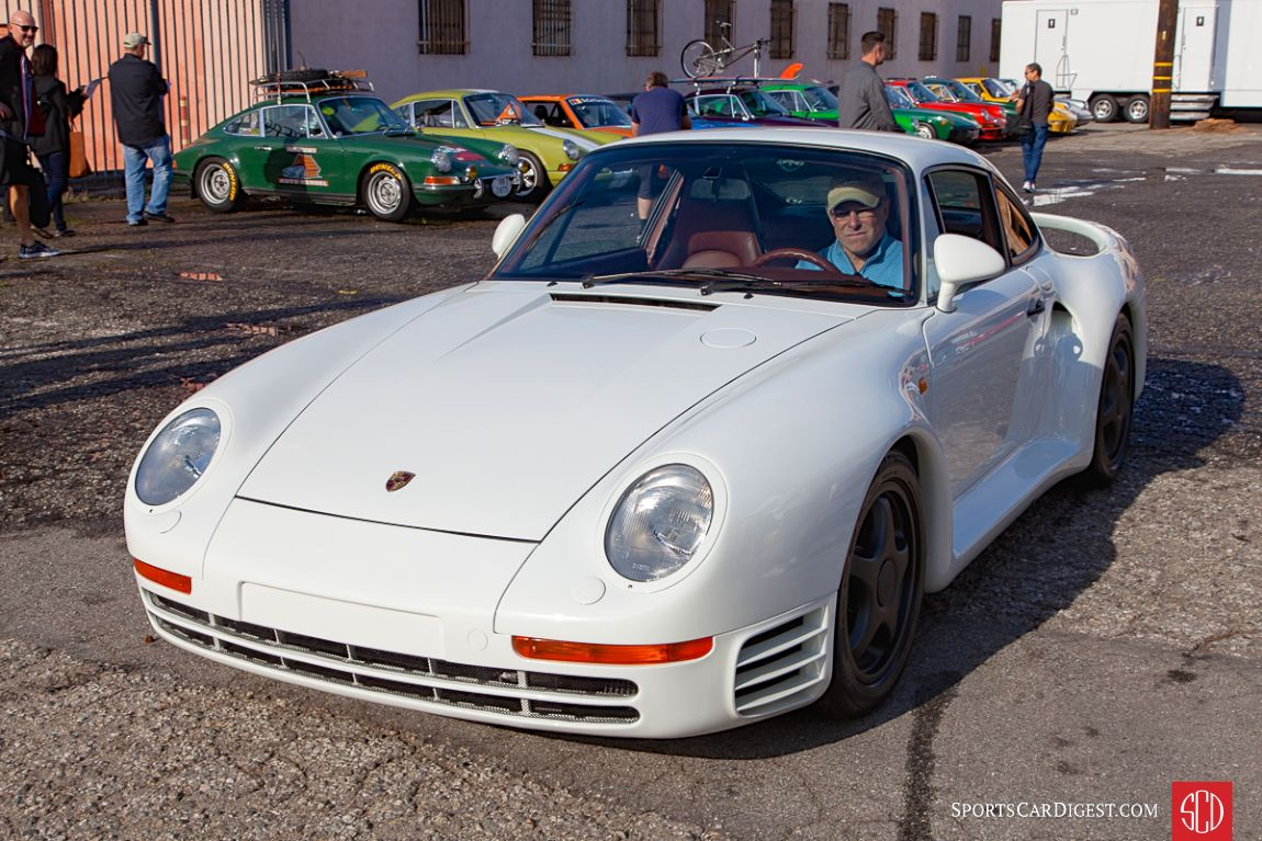 Bruce Canepa in his Porsche 959 Komfort (Photo: Victor Varela)