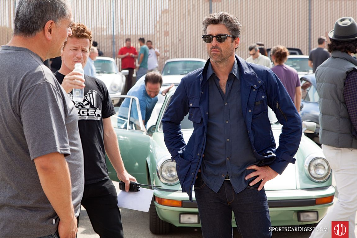 Patrick Dempsey on hand for Luftgekuhlt 3 (Photo: Victor Varela)