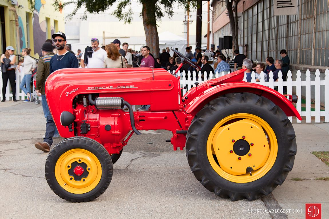 """The single-cylinder, air-cooled Porsche """"Junior"""" tractor (Photo: Victor Varela)"""