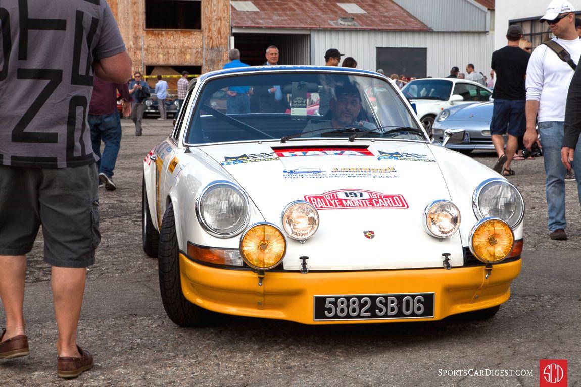 The Ex-Monte Carlo Rally 1973 Porsche 911 Carrera RS 2.7 (Photo: Victor Varela)
