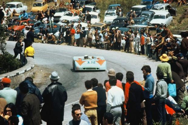 Brian Redman, Porsche 908-3, 1970 Targa Florio