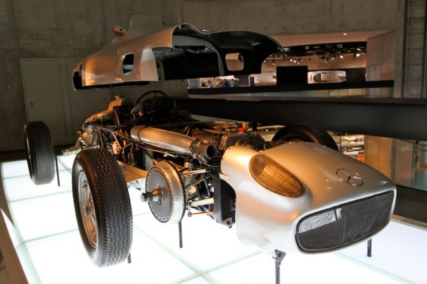 Mercedes-Benz W196 museum photo