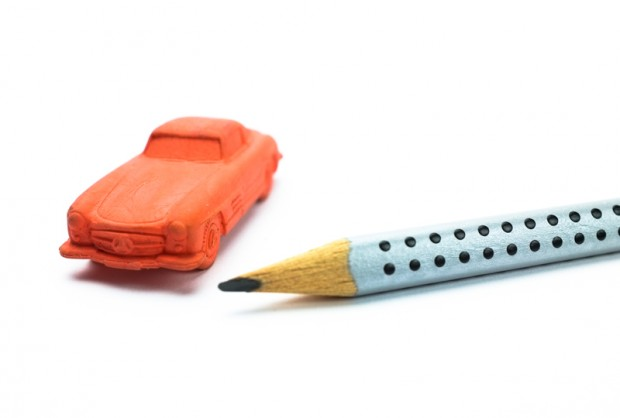 Pencil eraser MB 300 SL