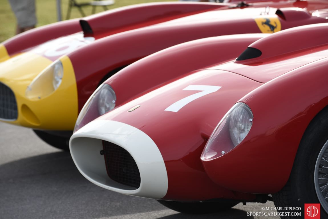 Ferrari 250 Testa Rossa s/n 0748TR and Ferrari 290 MM s/n 0616