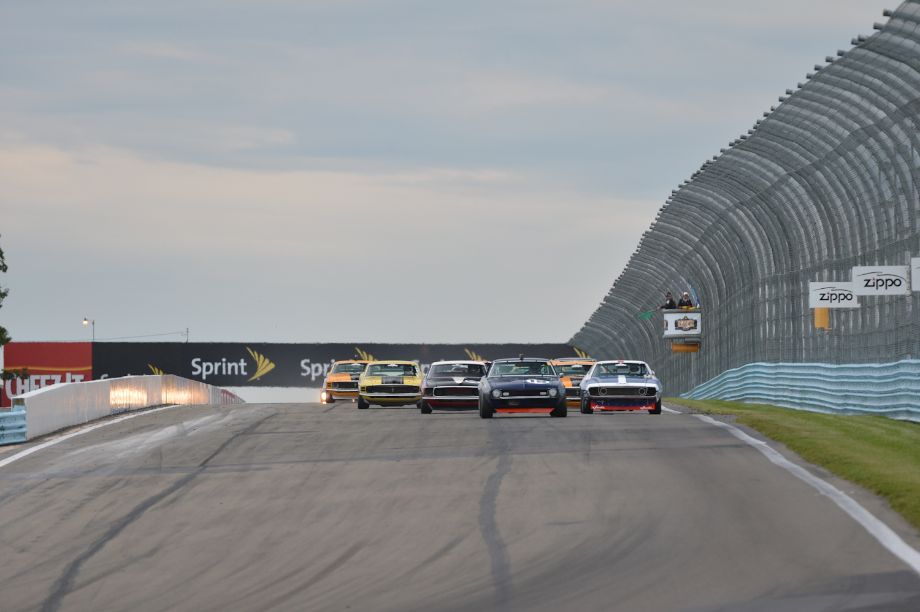 Green Flag for the Historic Trans Am.