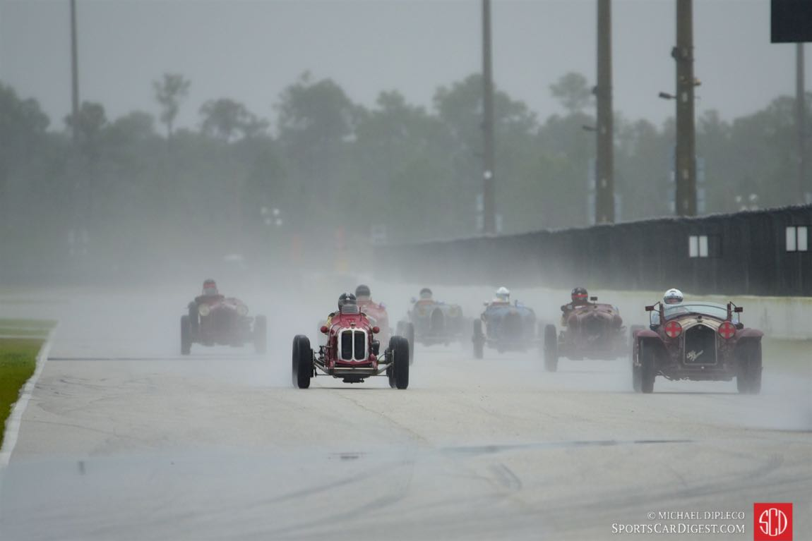 Pre-War Group heads out in the rain