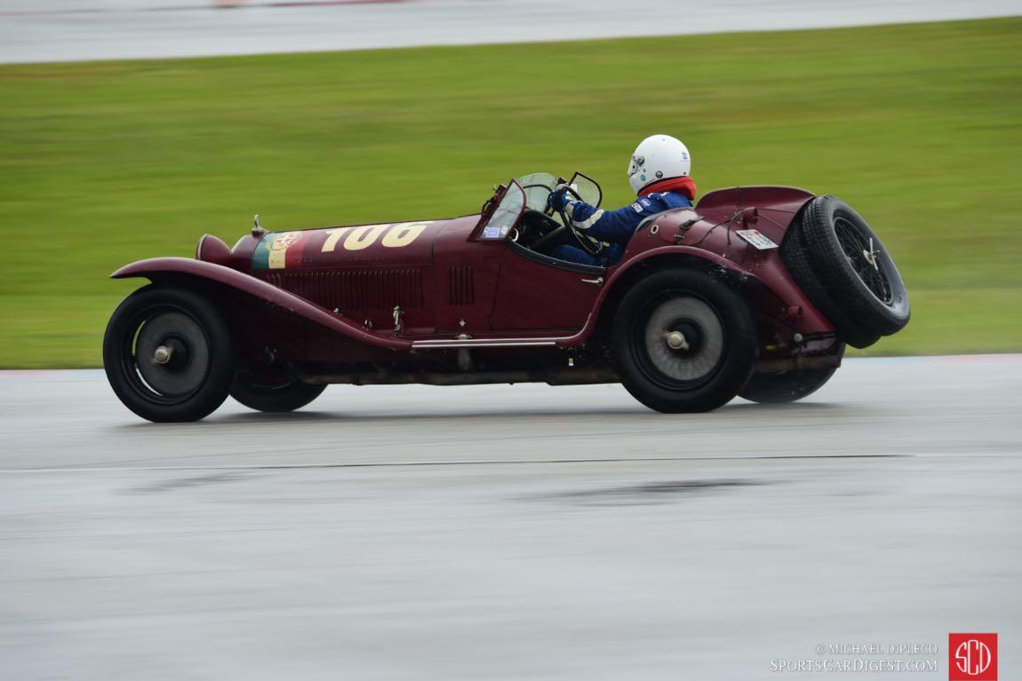 1932 Alfa Romeo 8C 2300 MM Touring Spider s/n 2111033