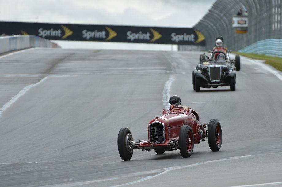 Peter Giddings' 1931 Alfa Romeo Tipo B P3