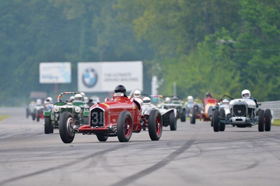 Peter Giddings - 1931 Alfa Romeo Tipo B P3