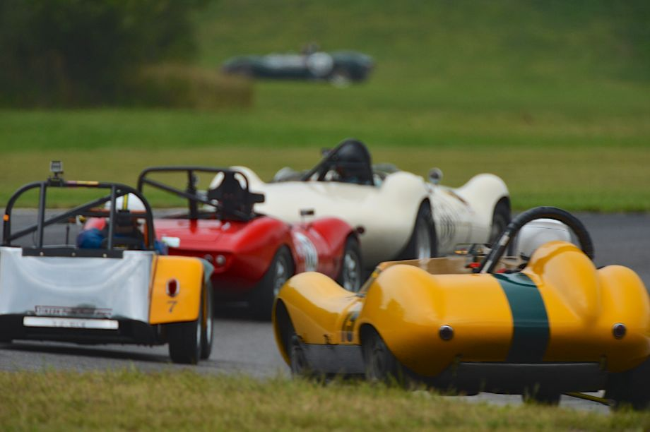 Tight racing was the theme at Lime Rock