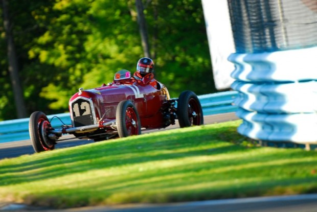 1934 Alfa Romeo P3 of Jon Shirley at U.S. Vintage Grand Prix