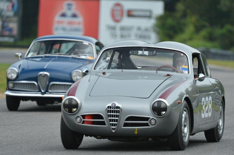 1957 Alfa Romeo Spider Veloce Zagato.