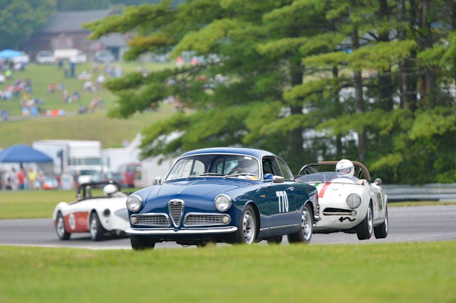 1957 Alfa Romeo Giulietta Sprint.