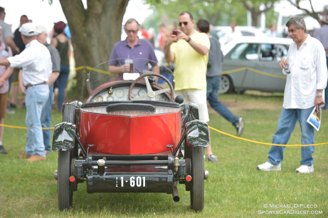 1923 Bugatti T23 Brescia Roadster.