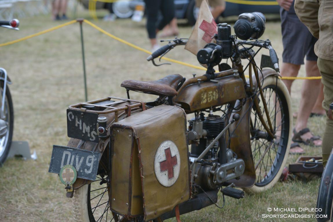1917 Triumph Model H.