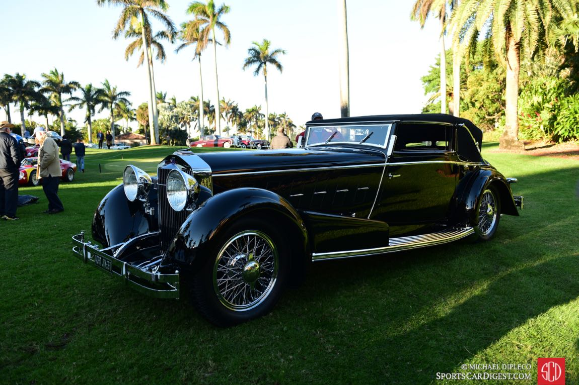 Best of Show - 1924 Isotta Fraschini Tipo 8A Cabriolet