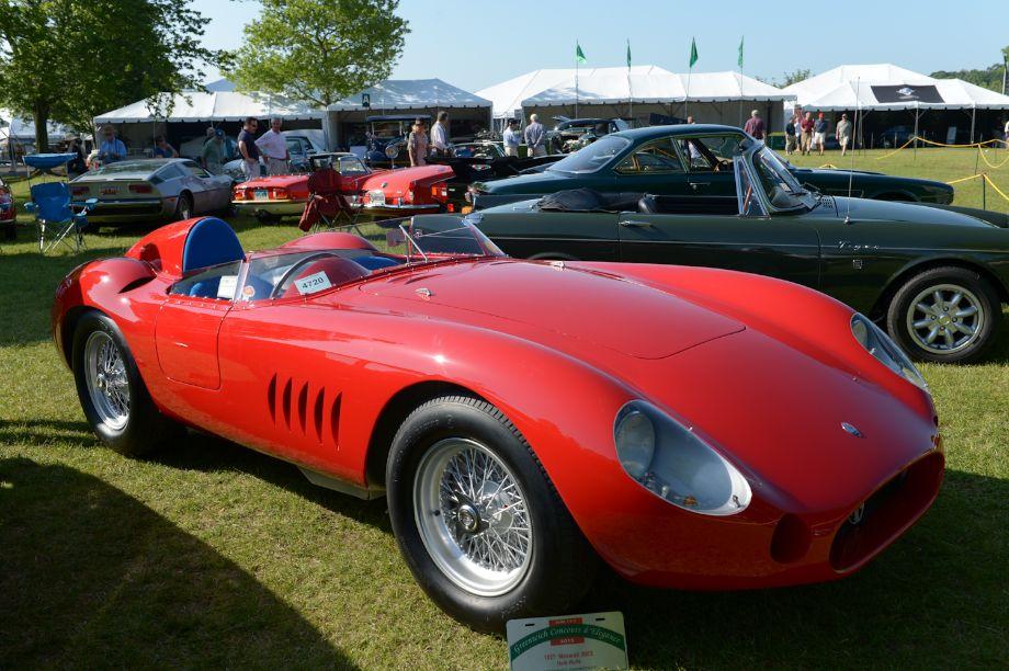 1955 Maserati 300S - Herb Wolfe.