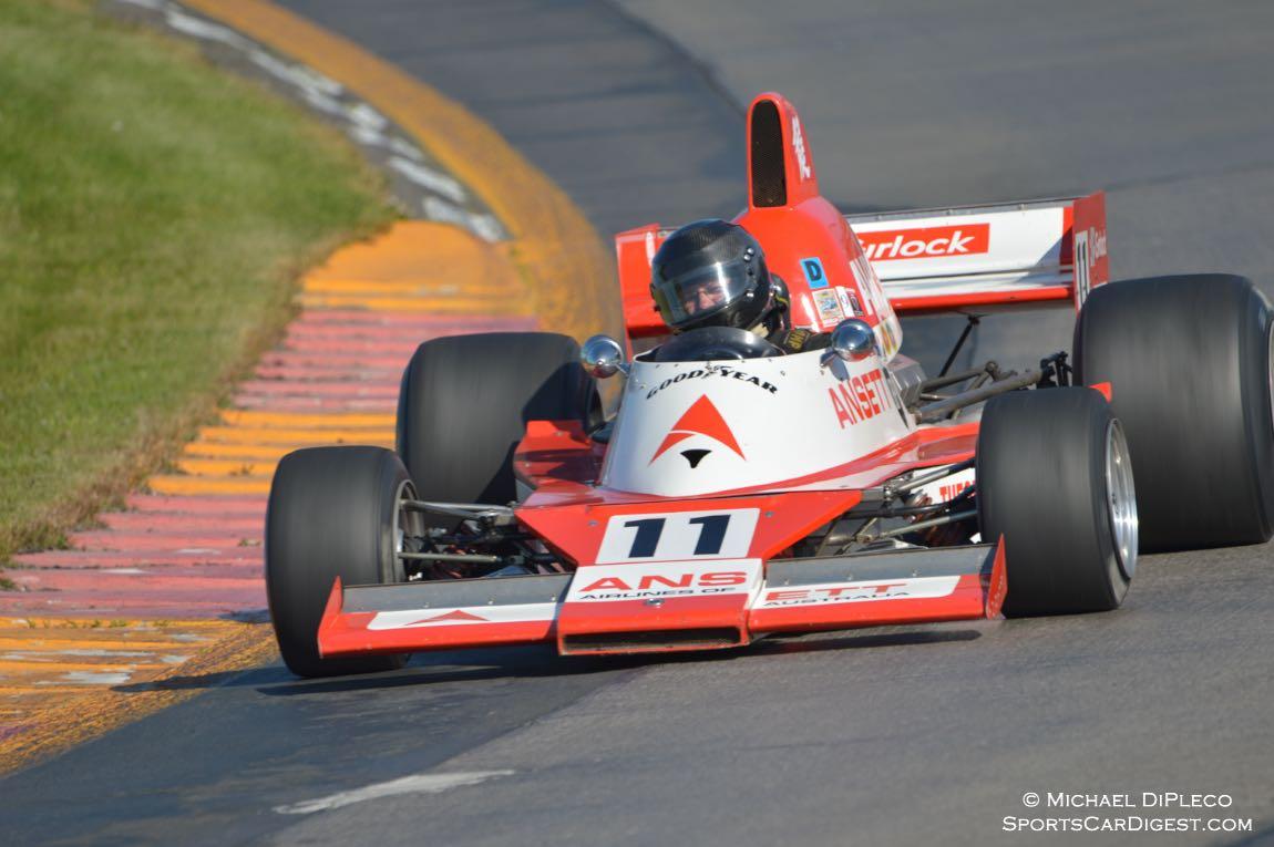 1977 Elfin MR8 F/5000, Bill Hemming.
