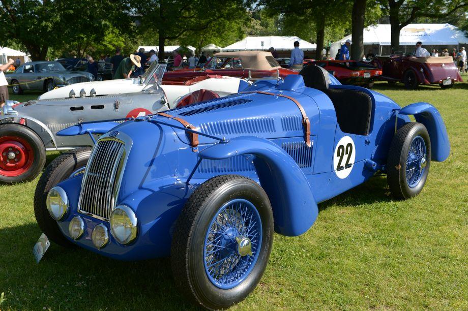 1939 Delage D-6 Grand Prix - Michael Connell.