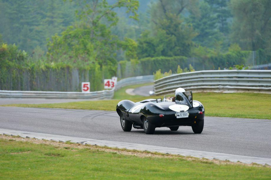 1955 Jaguar D-Type.