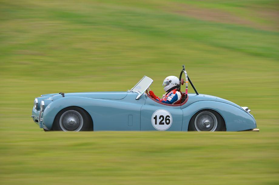 """1954 Jaguar XK120 """"OTS""""."""