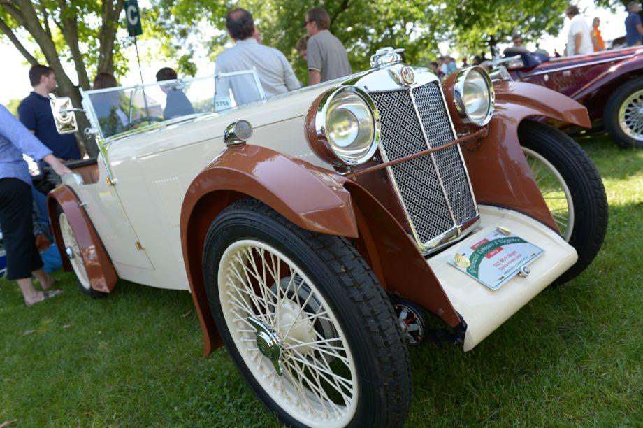 1932 MG F1 Magna - Clark and Pamela Lance.