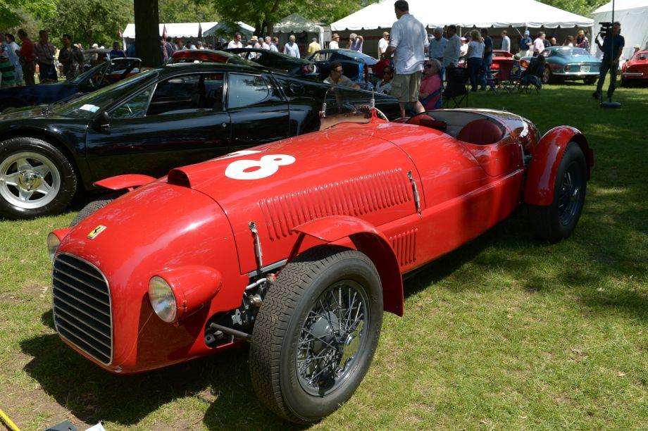 Best in Show - 1947 Ferrari 159S Spider Corsa, chassis #002C - James Glickenhaus