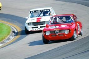 1968 Alfa Romeo GTV and 1969 Datsun 510 at Watkins Glen
