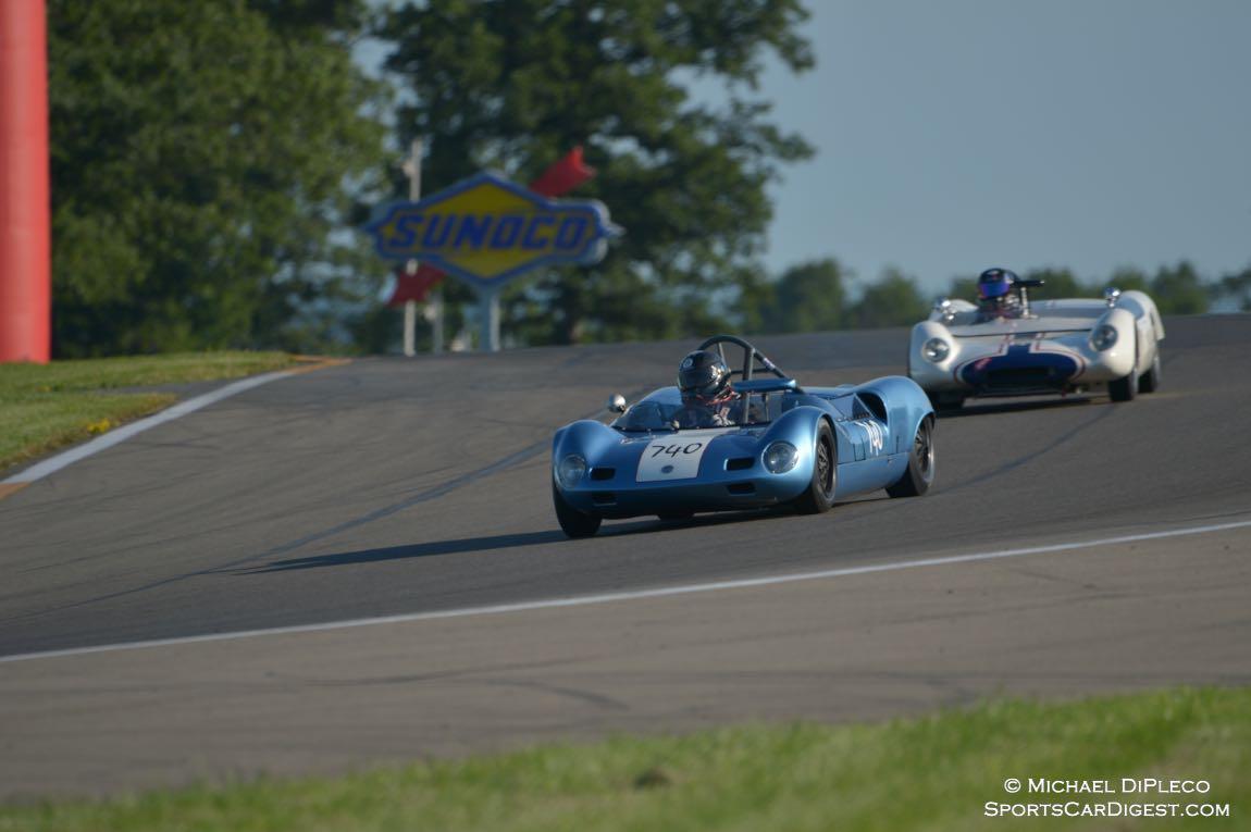 1964 Elva Mk7s. Mitch Eitel.