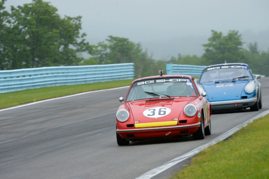 Jerry Peters- Porsche 911- #24- Ronnie Randall- 1969 Porsche 911.