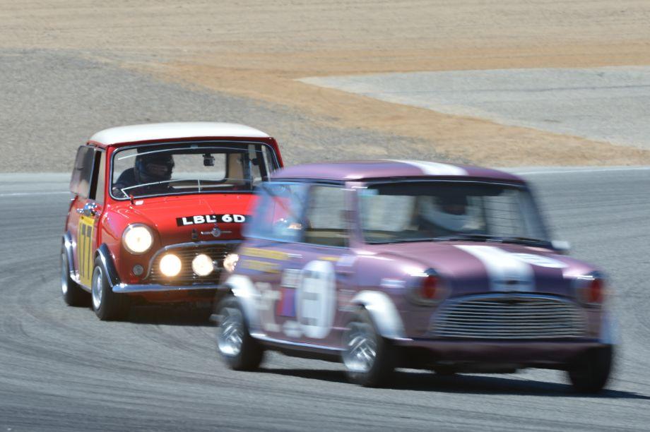 1966 Morris Mini Cooper S.